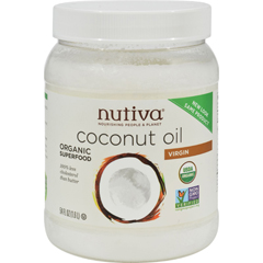 HGR0740357 - Nutiva - Extra Virgin Coconut Oil Organic - 54 fl oz