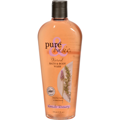 HGR0740415 - Pure and BasicNatural Bath and Body Wash Lavender Rosemary - 12 fl oz