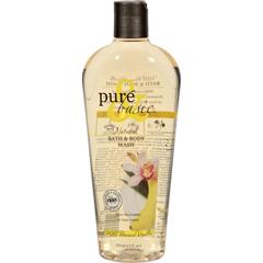 HGR0740480 - Pure and BasicNatural Bath and Body Wash Wild Banana Vanilla - 12 fl oz