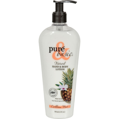 HGR0740498 - Pure and BasicNatural Bath and Body Lotion Caribbean Heat - 12 fl oz