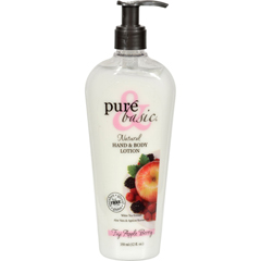 HGR0740514 - Pure and BasicNatural Bath and Body Lotion Fuji Apple Berry - 12 fl oz