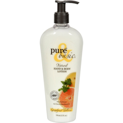 HGR0740530 - Pure and BasicNatural Bath And Body Lotion Grapefruit Verbena - 12 fl oz