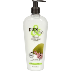 HGR0740571 - Pure and BasicNatural Bath And Body Lotion Passionate Pear - 12 fl oz
