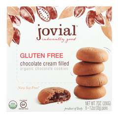 HGR0741520 - Jovial - Cookies - Organic - Chocolate Cream - Gluten Free - 7 oz.. - case of 10
