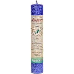 HGR0743450 - Aloha BayChakra Pillar Candle, Indigo - Abundance