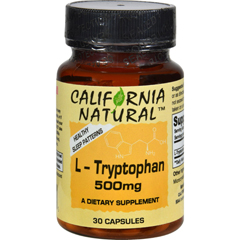HGR0744250 - California NaturalL-Tryptophan - 500 mg - 30 Capsules