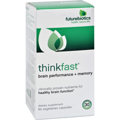 HGR0744730 - FutureBioticsThinkFast - 60 Vegetarian Capsules