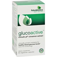 HGR0744953 - FutureBioticsGlucoActive - 60 Vegetarian Capsules