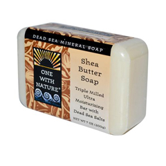 HGR0745059 - One With Nature - Dead Sea Mineral Shea Butter Soap - 7 oz