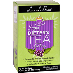 HGR0747105 - Laci Le BeauSuper Dieters Tea with Acai Berry Extract - 30 Tea Bags