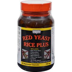 HGR0747857 - Only NaturalRed Yeast Rice Plus - 60 Vcaps