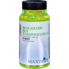 HGR0754218 - Maximum InternationalAvocado 300 Soy Unsaponifiables with SierraSil - 600 mg - 60 Tablets