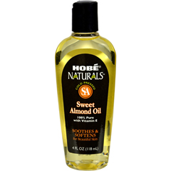 HGR0754358 - Hobe LabsHobe Naturals Sweet Almond Oil - 4 fl oz