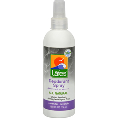 HGR0755330 - Lafe's Natural Body CareLafes Deodorant Spray Lavender - 8 fl oz