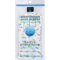 HGR0756189 - Earth TherapeuticsMoisturizing Hand Gloves Garden Print - 1 Pair