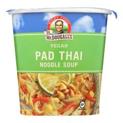HGR0756817 - Dr. Mcdougall's - Vegan Pad Thai Noodle Soup Big Cup - Case of 6 - 2 oz..