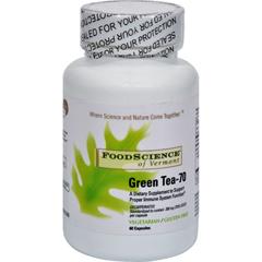 HGR0759738 - Food Science of VermontGreen Tea-70 - 350 mg - 60 Vegetable Capsules