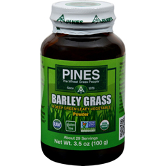 HGR0761502 - Pines International100% Organic Barley Grass Powder - 3.5 oz