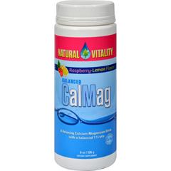 HGR0763227 - Natural VitalityCalMag Raspberry Lemon - 8 oz