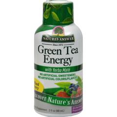 HGR0768739 - Nature's AnswerGreen Tea Energy Display Center Case - Case of 12 - 2 oz