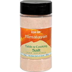 HGR0768820 - Himalayan SaltHimalayan Table And Cooking Salt Fine Crystals - 15 oz