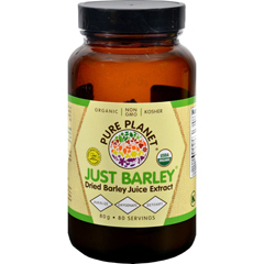 HGR0769067 - Pure PlanetJust Barley Natures Organic Nutrition Support - 2.8 oz