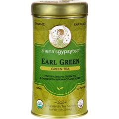 HGR0769869 - Zhena's Gypsy TeaEarl Green Tea - Case of 6 - 22 Bags