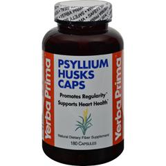 HGR0771204 - Yerba PrimaPsyllium Husks Caps - 180 Capsules