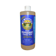 HGR0771212 - Dr. WoodsShea Vision Pure Castile Soap Peppermint with Organic Shea Butter - 32 fl oz