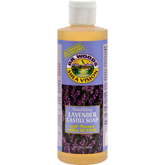 HGR0771253 - Dr. WoodsShea Vision Pure Castile Soap Lavender with Organic Shea Butter - 8 fl oz
