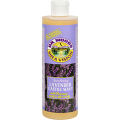 HGR0771279 - Dr. Woods - Shea Vision Pure Castile Soap Lavender with Organic Shea Butter - 16 fl oz