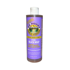 HGR0771493 - Dr. Woods - Shea Vision Pure Black Soap with Organic Shea Butter - 16 fl oz