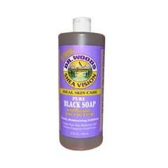 HGR0771519 - Dr. WoodsShea Vision Pure Black Soap with Organic Shea Butter - 32 fl oz
