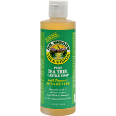 HGR0771634 - Dr. WoodsShea Vision Pure Castile Soap Tea Tree - 8 fl oz
