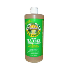 HGR0771659 - Dr. Woods - Shea Vision Pure Castile Soap Tea Tree - 32 fl oz
