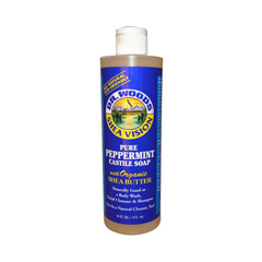 HGR0771675 - Dr. WoodsPure Castile Soap Peppermint - 16 fl oz