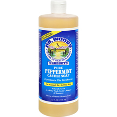 HGR0771758 - Dr. WoodsPure Castile Soap Peppermint - 32 fl oz