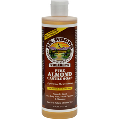 HGR0771873 - Dr. WoodsPure Castile Soap Almond - 16 fl oz