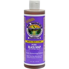 HGR0771956 - Dr. WoodsPure Black Soap - 16 fl oz