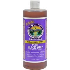 HGR0771972 - Dr. Woods - Pure Black Soap - 32 fl oz