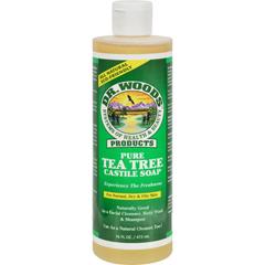 HGR0772012 - Dr. WoodsPure Castile Soap Tea Tree - 16 fl oz