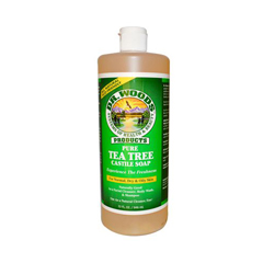 HGR0772038 - Dr. Woods - Pure Castile Soap Tea Tree - 32 fl oz