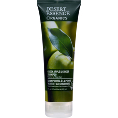 HGR0775783 - Desert Essence - Shampoo Green Apple and Ginger - 8 fl oz