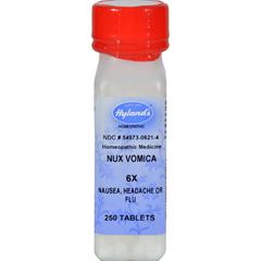 HGR0778829 - Hyland'sNux Vomica 6x - 250 Tablets