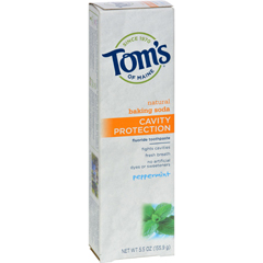 HGR0778985 - Tom's of MaineCavity Protection Toothpaste Peppermint - 5.5 oz - Case of 6