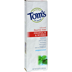HGR0779868 - Tom's of MainePropolis and Myrrh Toothpaste Peppermint - 5.5 oz - Case of 6
