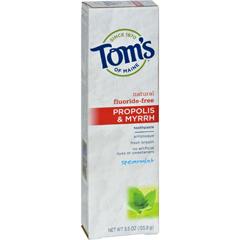 HGR0779991 - Tom's of MainePropolis and Myrrh Toothpaste Spearmint - 5.5 oz - Case of 6