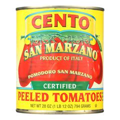 HGR0780049 - Cento - Peeled Tomatoes - Case of 12 - 28 oz..