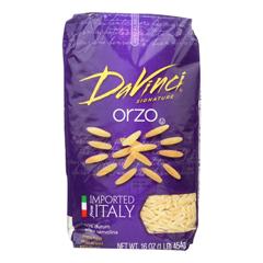 HGR0782821 - Davinci - Orzo Pasta - Case of 12 - 1 lb.