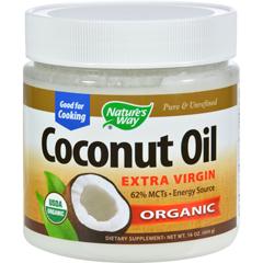 HGR0783290 - Nature's WayEfaGold Coconut Oil - 16 fl oz